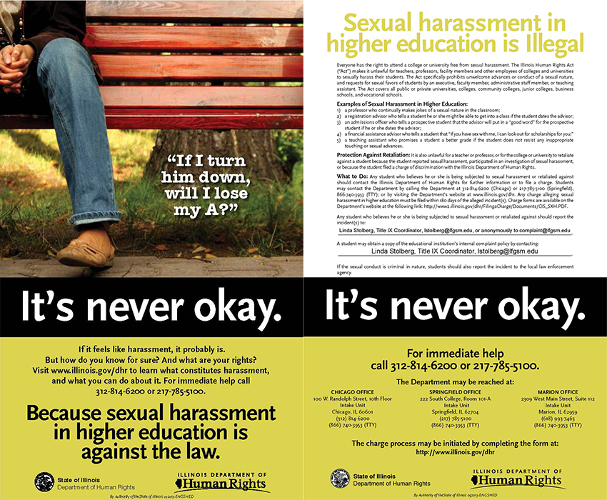 Illinois now toughest State for Employers / Sexual Harrassment Claims.